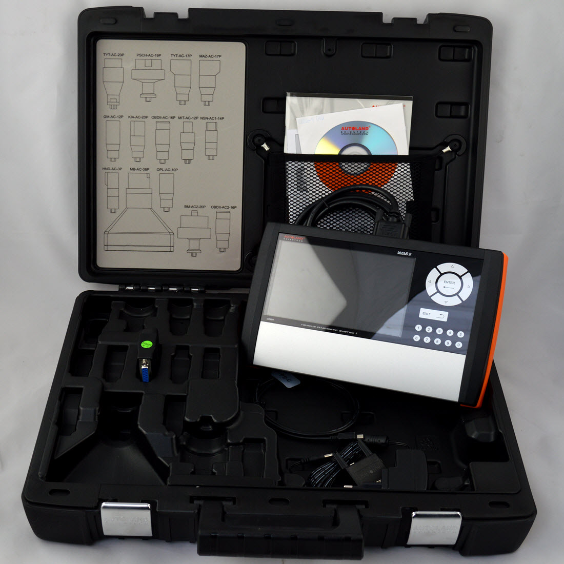 Autoland diagnostic kit without older connectors