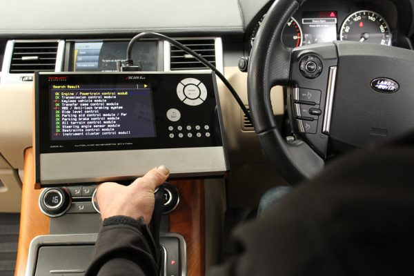Land rover diagnostics with Iscan 2 wt