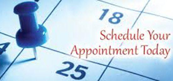 Make an appointment booking