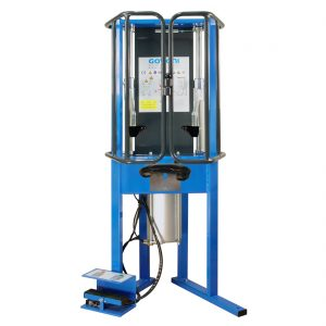 Hydraulic-spring-compressor