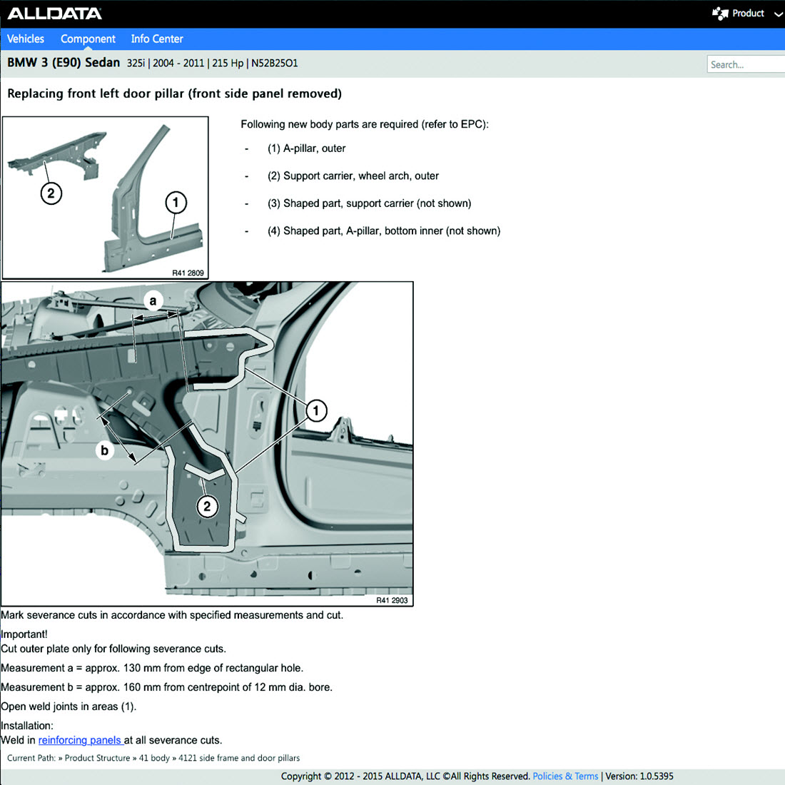 Alldata v. 10. 53 (2013 q3) automotive repair data disc 1 of 16.