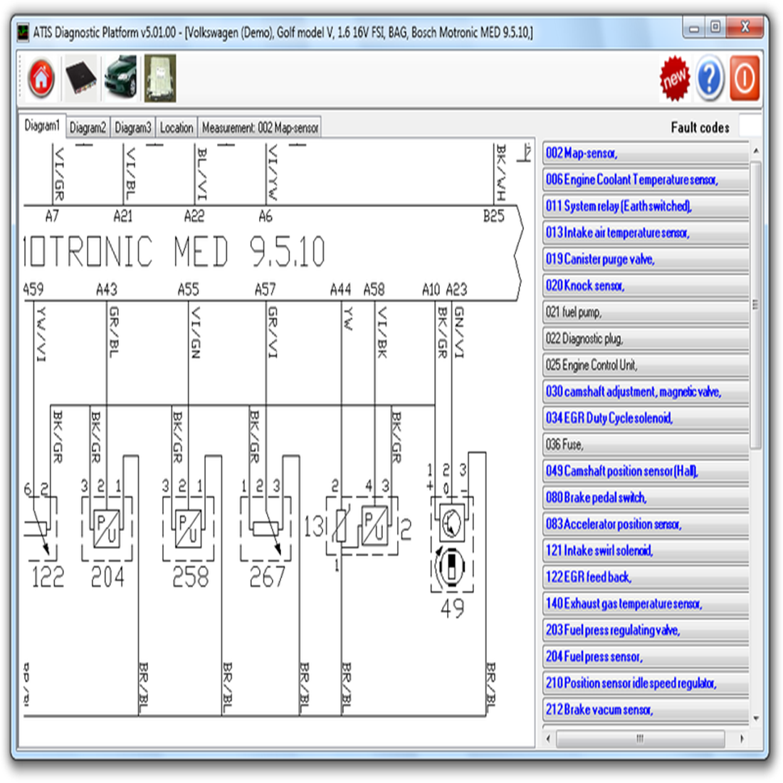 Gmto Optional Atis Pro3 Software For Sale Ford Iveco Wiring Diagram