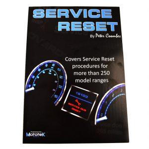 Service Reset Procedures Manual