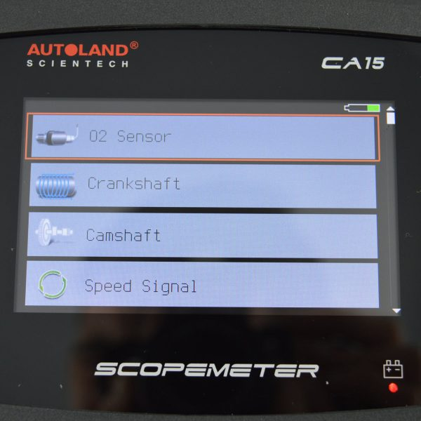 Autoland-scopemeter-single-channel