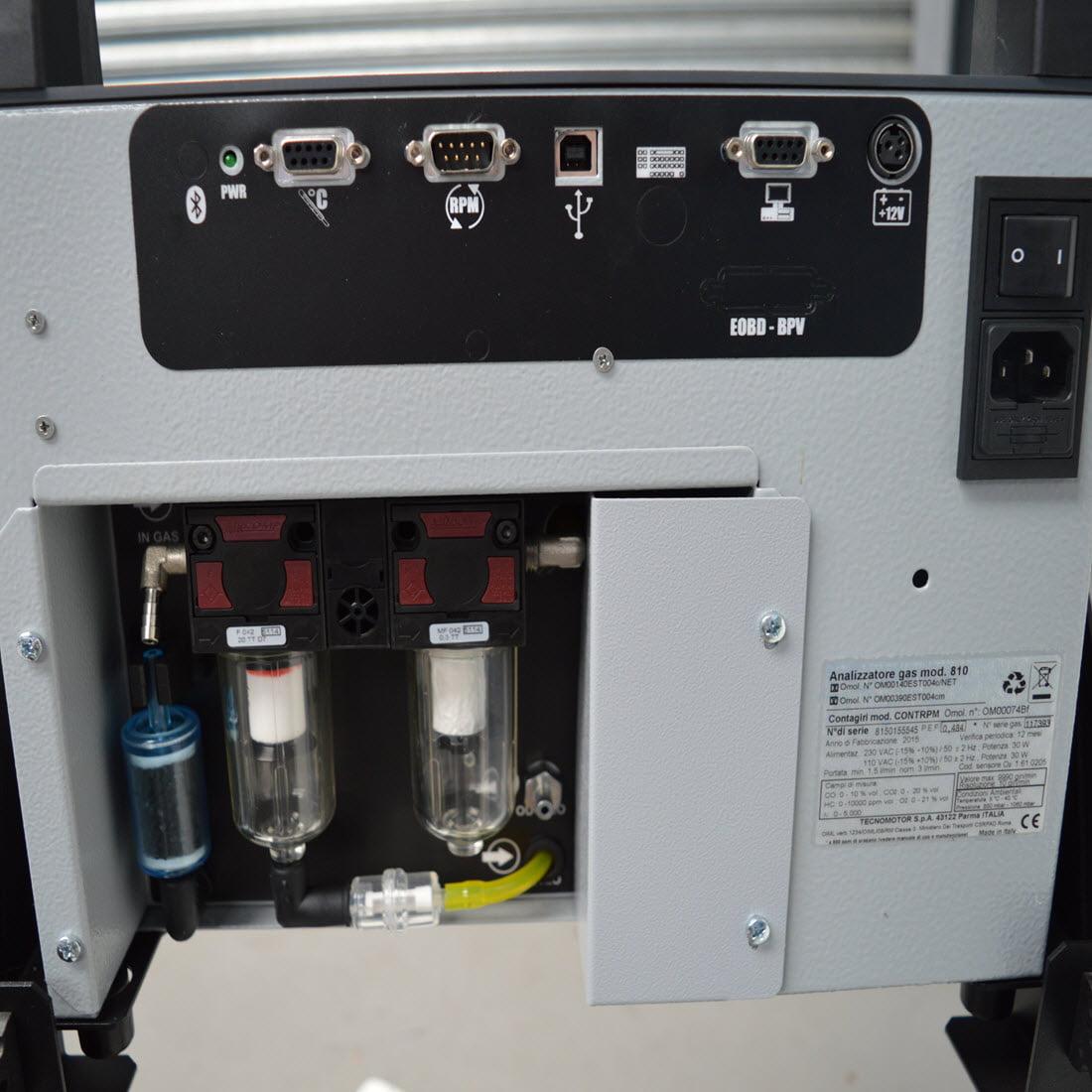 emissions machine