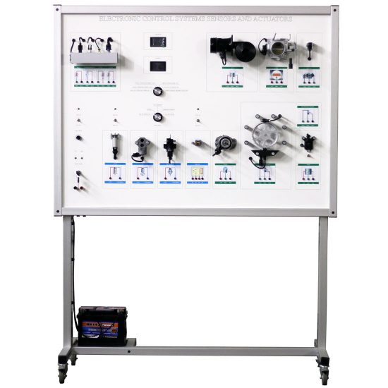 Sensors and Actuators Training Board