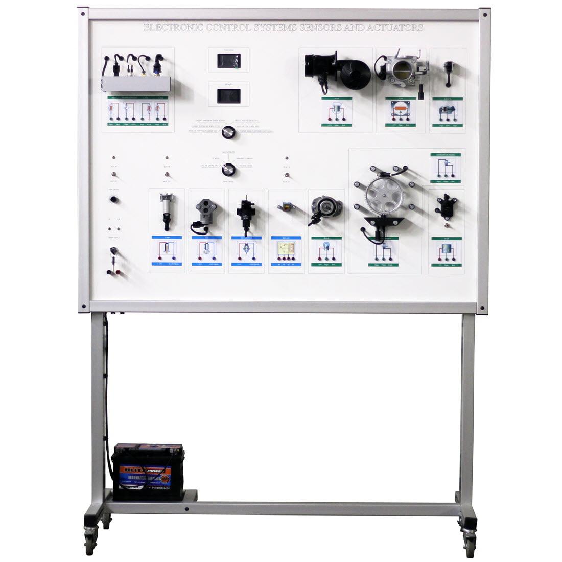 Sensors and Actuators Training Board