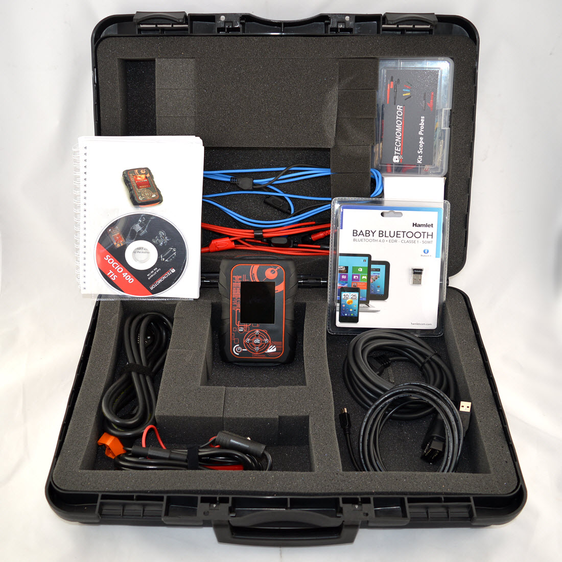 Tecnomotor socio 410 with 2 channel scope for sale for Motor vehicle diagnostic machine