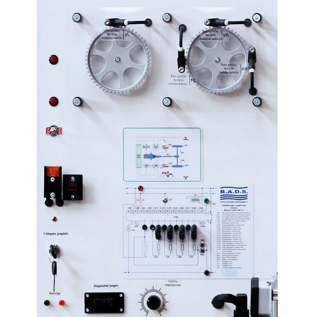 ABS Braking system training board-simulator For Sale