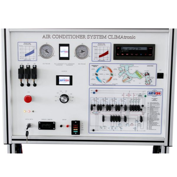 Air conditioning and climate control system training board