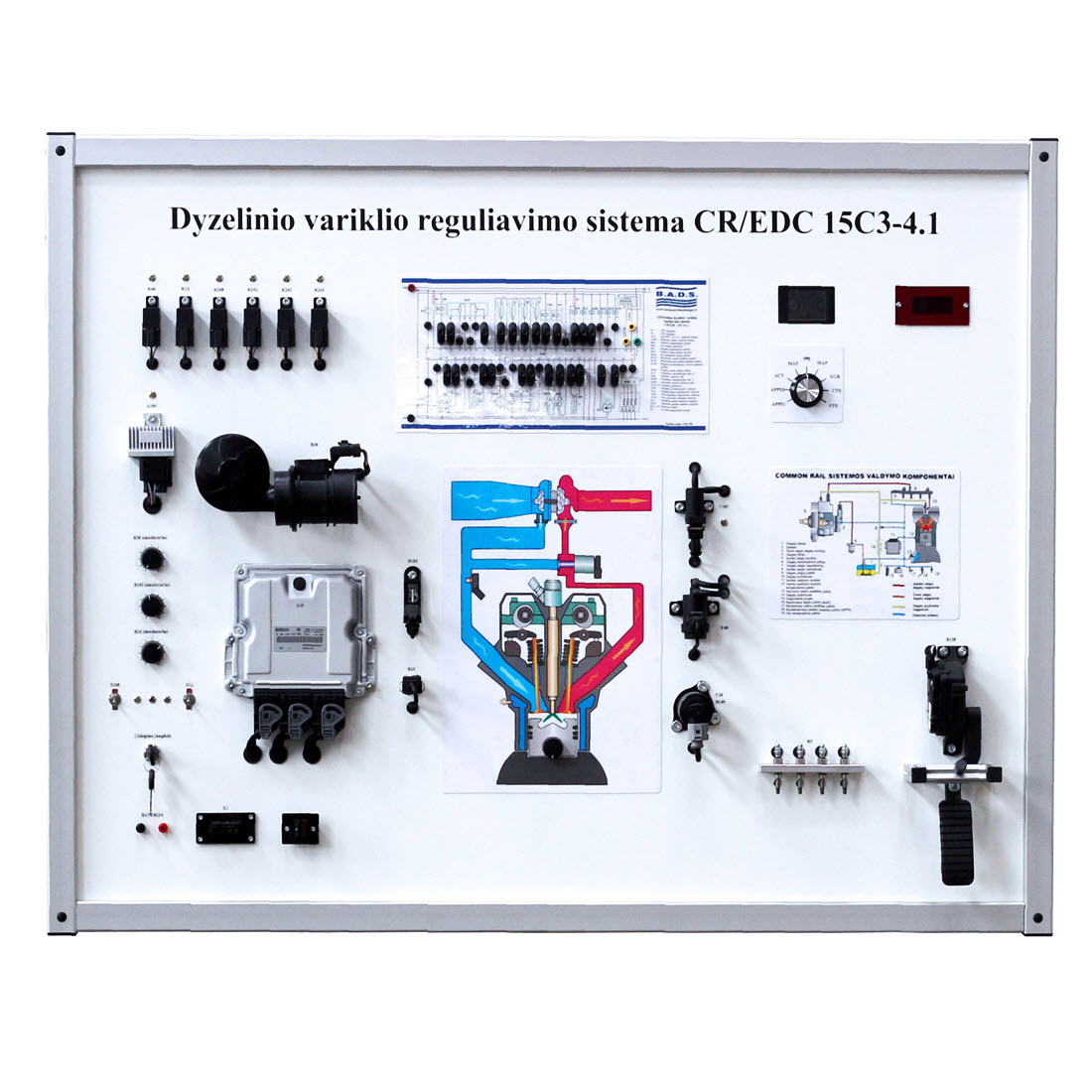 Cr Edc 15c3 41 Training Board Simulator For Sale Oxygen Sensor This Is Built From A Common Rail