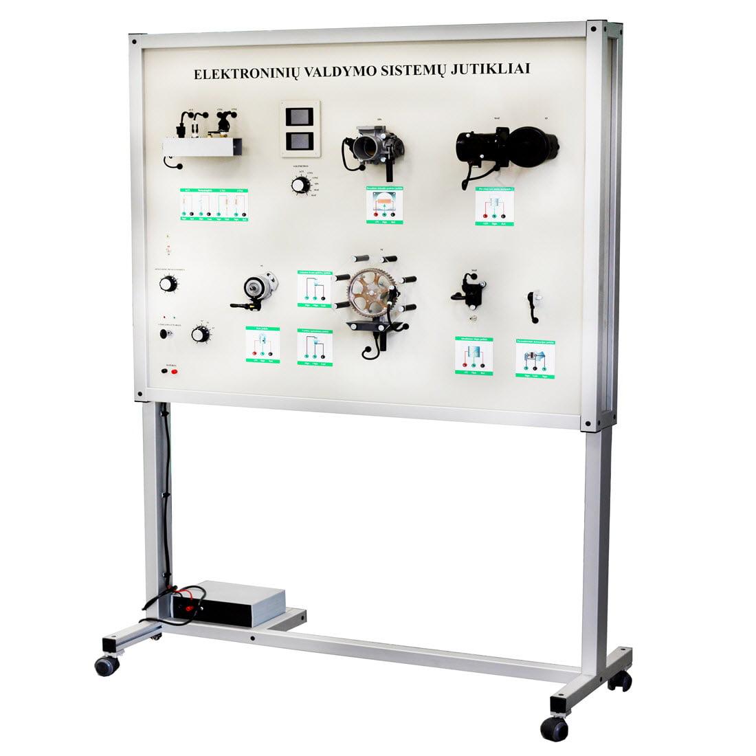 Sensors And Actuators Training Board Simulator For Sale Oxygen Sensor Actutors