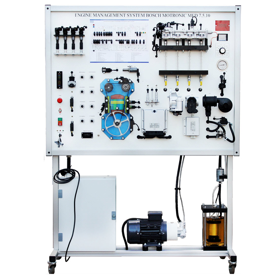 Bosch Motronic Fsi Training Board Simulator For Sale Oxygen Sensor This Is Built From A