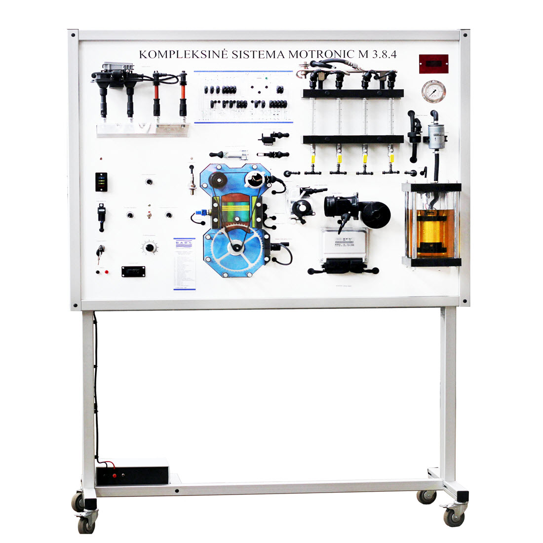 Motronic M 38x Mpi Training Board Simulator For Sale Oxygen Sensor This Is Built From A X