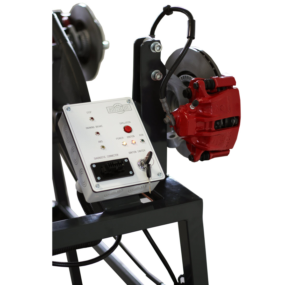 braking system Bleeding / friction / hydraulic pressure & force unsprung weight / principles of braking / divided systems abs operation abs - ecu operation brake pedal mast.