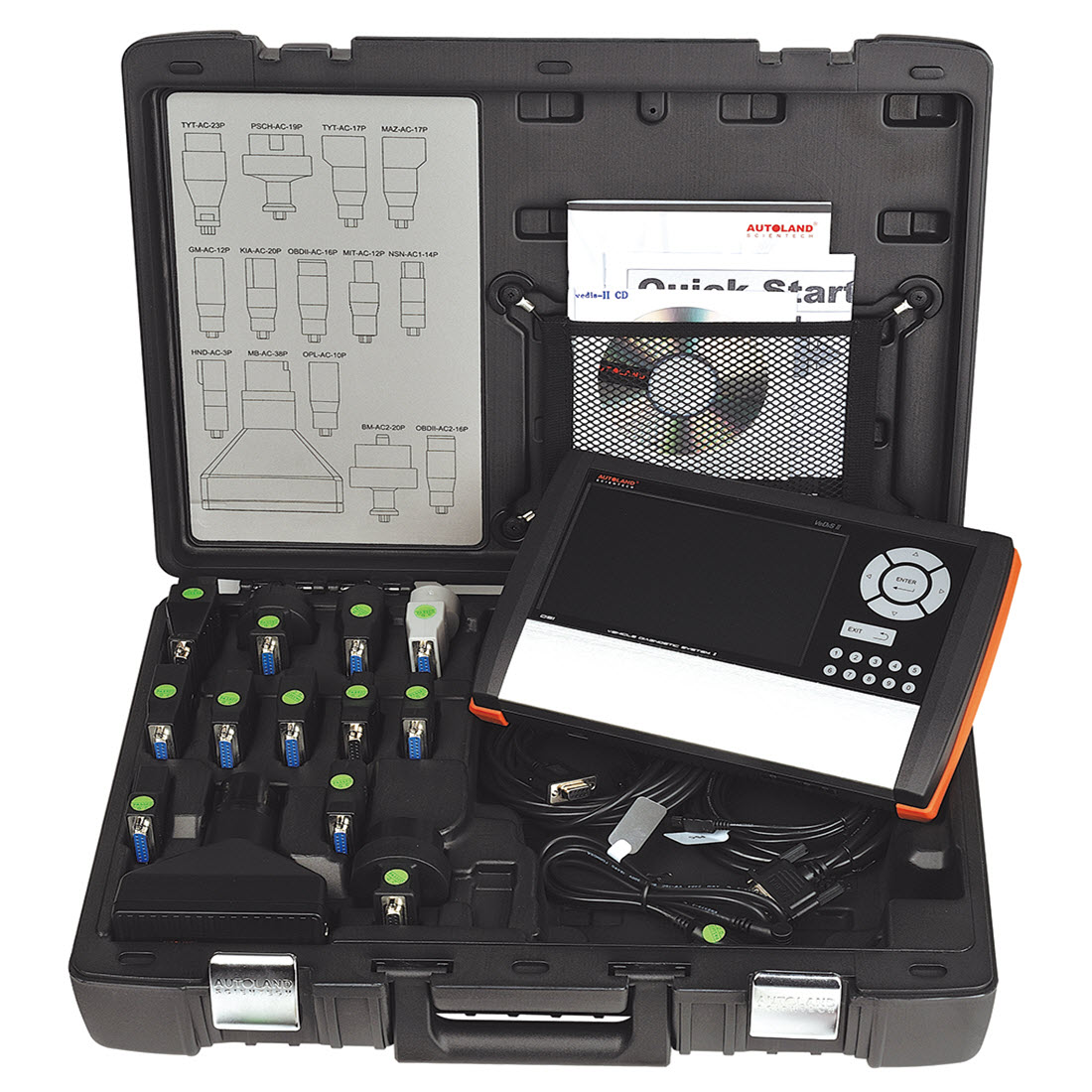 Tractor Scan Tool : Autoland scientech vedis ii deluxe kit for sale