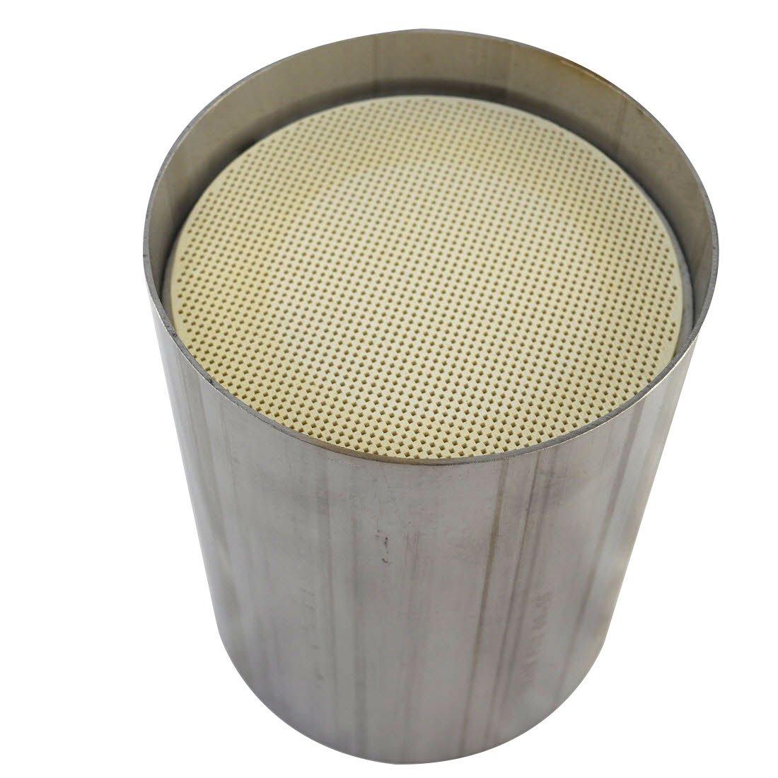 Weld in DPF filter