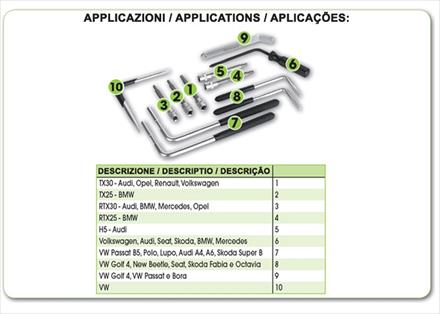 air bag remoal tools