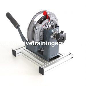 Diaphragm spring clutch cutaway