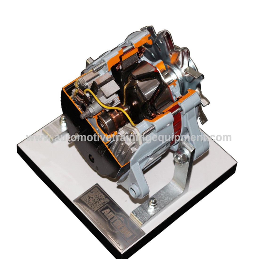 Carbon Zapp Gdi Injector Test Bench Gd1r For Sale Com Mariachilatemodeldodgedensoalternatorwiringdiagram Alternator Cutaway Single Flow Cooling On Base