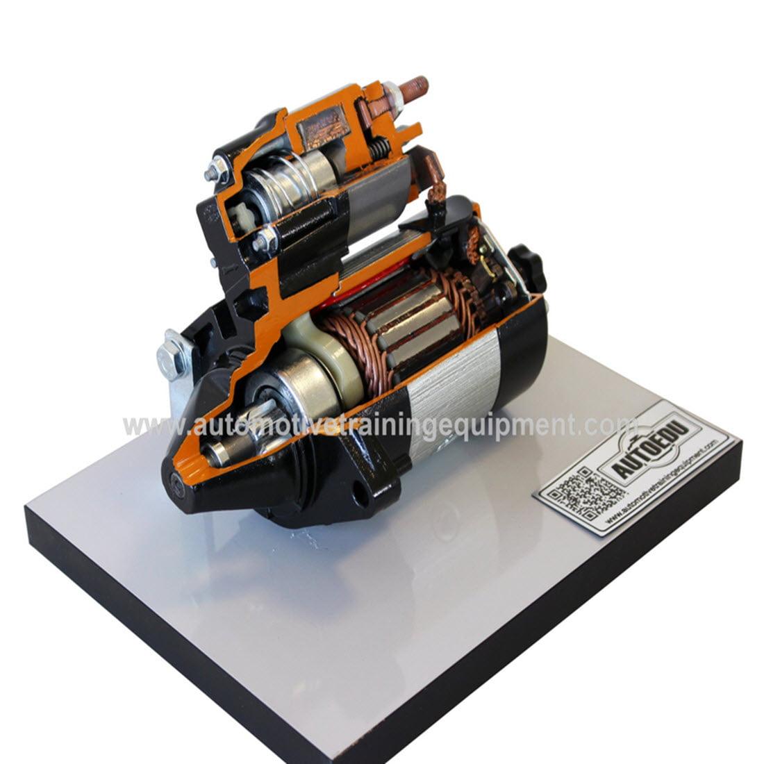 Starter motor cutaway on base for sale for Motor vehicle diagnostic machine