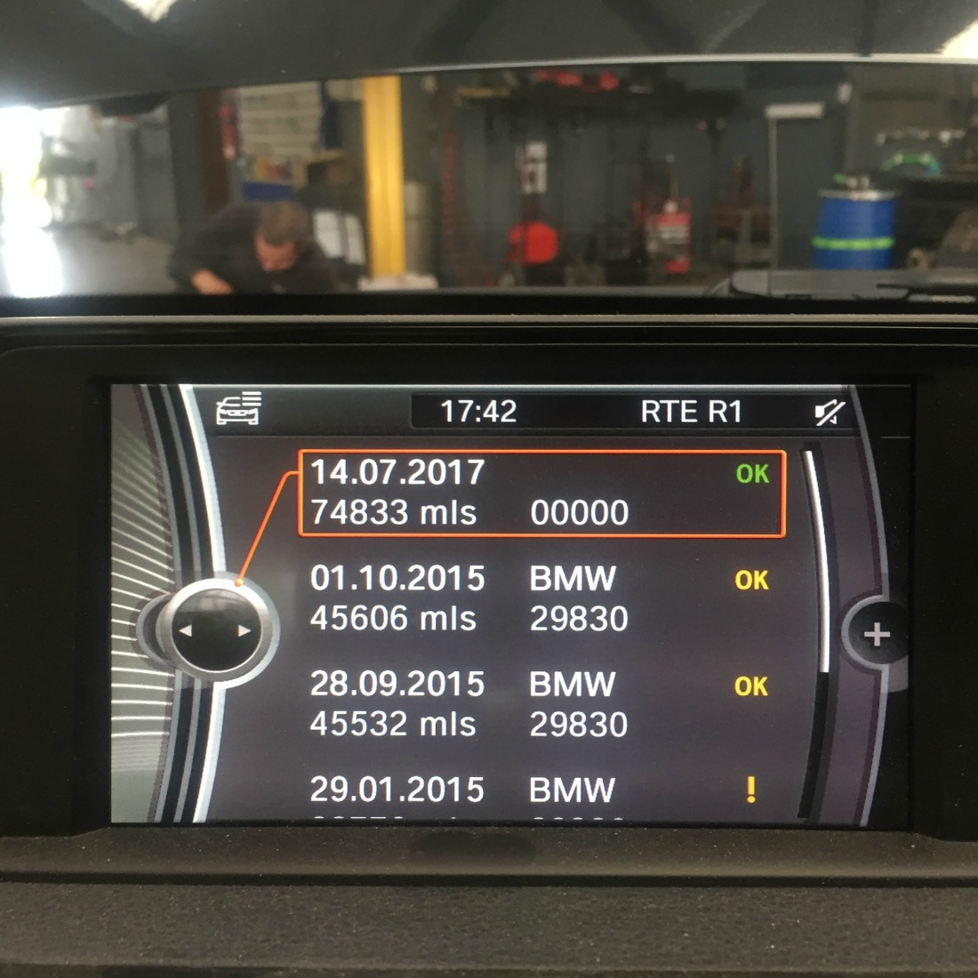 BMW Digital Service Records
