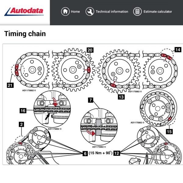 Autodata-timing-chains