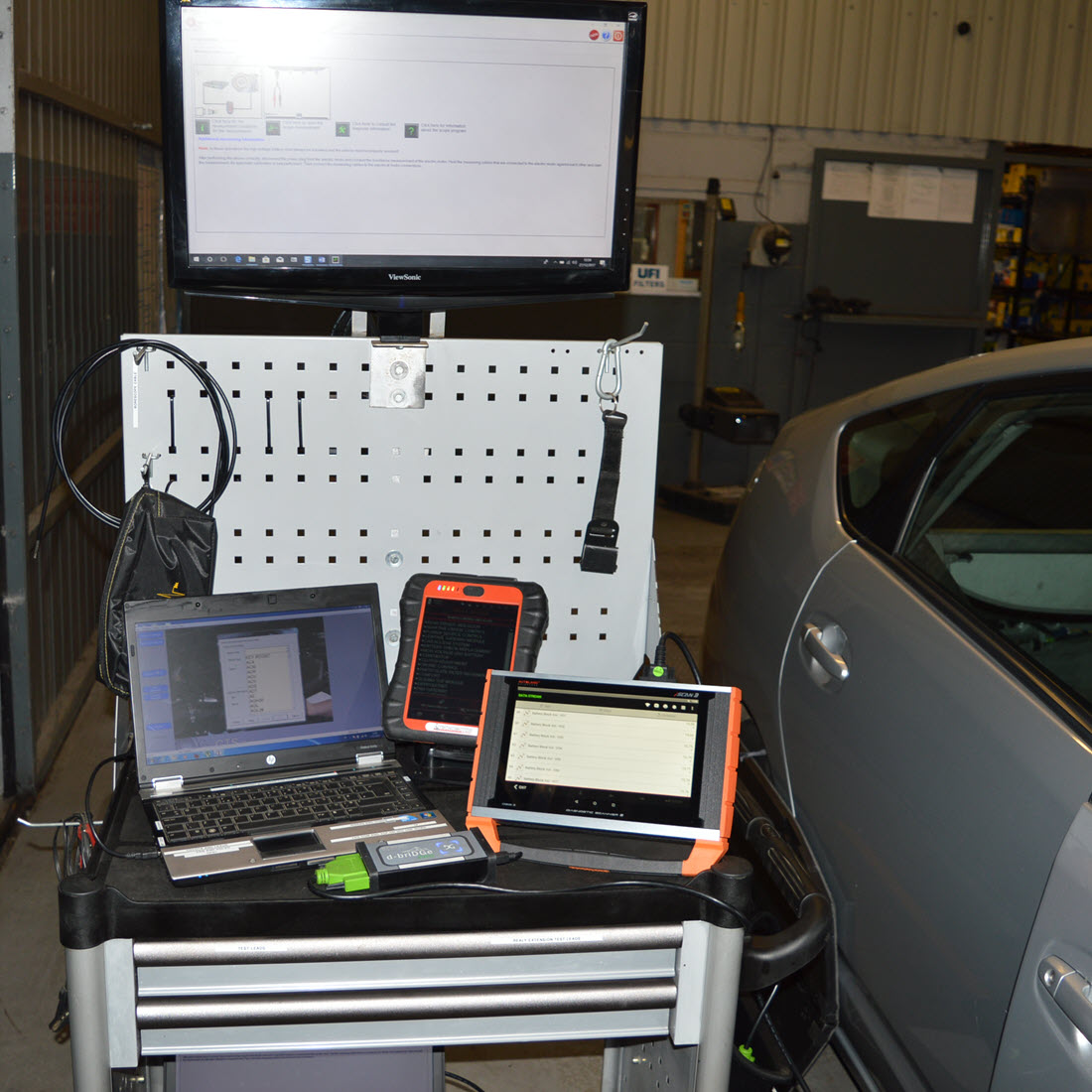 Hybrid And Electric Vehicle Diagnostics