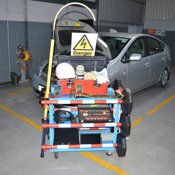 Hybrid And Electric Vehicle Tool Trolly