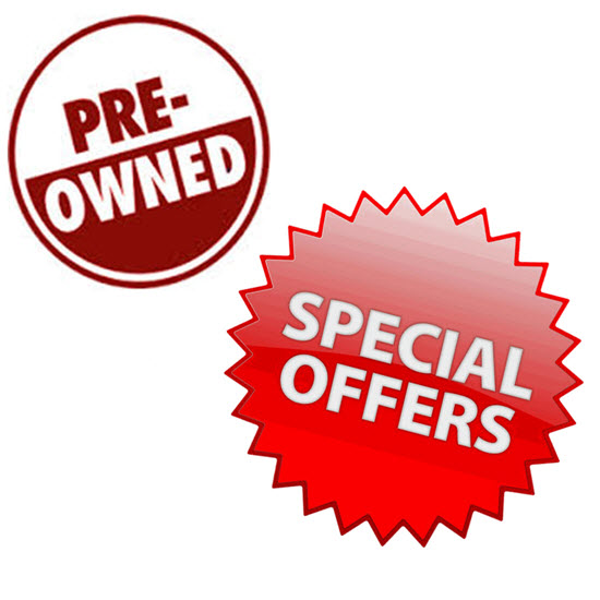 Used Equipment & Special Offers