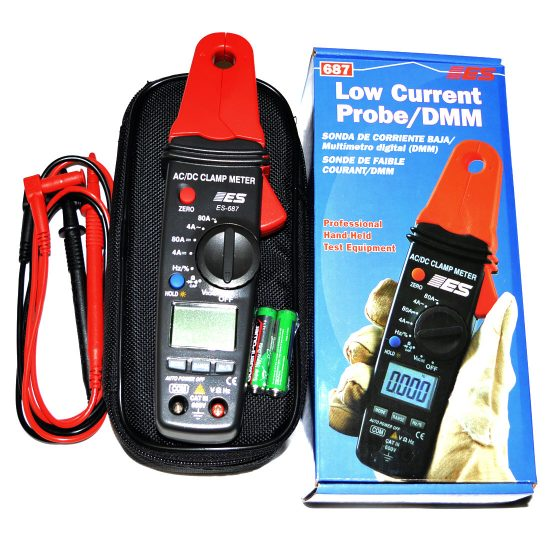 Low Current Clamp Meter 13mm Opening