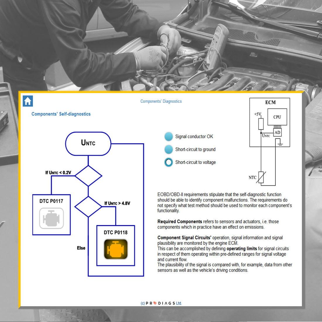 Eobd Obd Ii Self Diagnostics Online Training For Sale Design Circuits