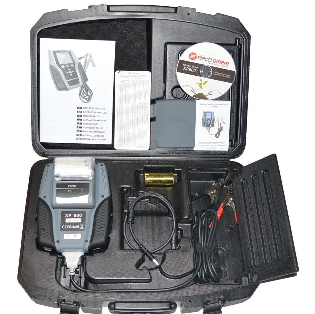 Electromem battery tester