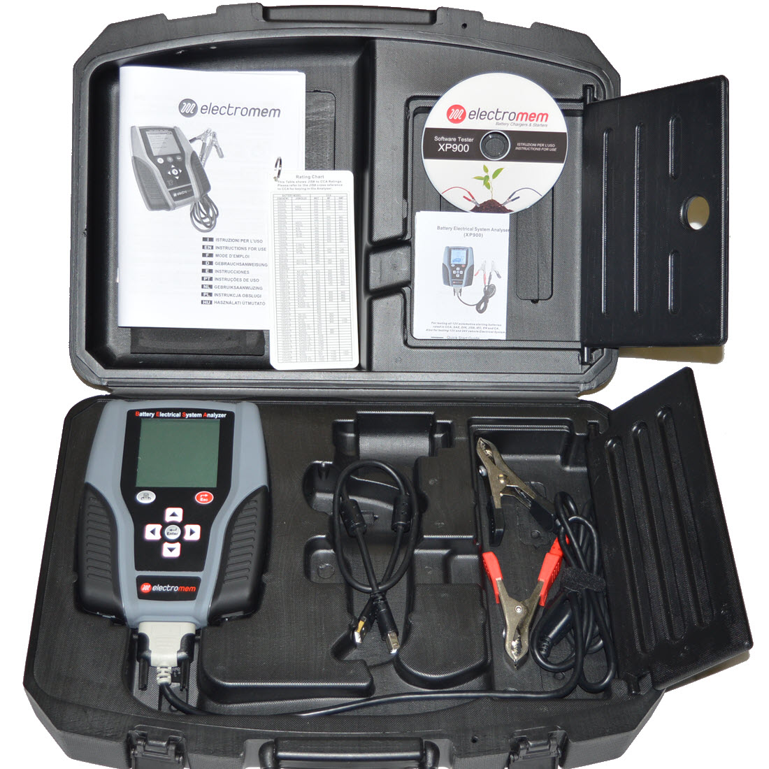 Battery Tester Xp900 For Sale Electrical Testers