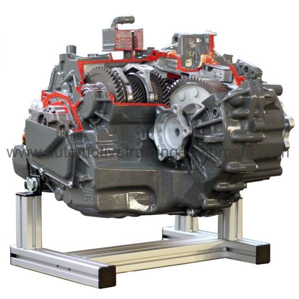 Direct shift gearbox cutaway model