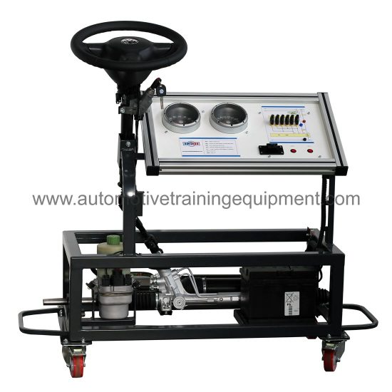Electro hydraulic steering training rig