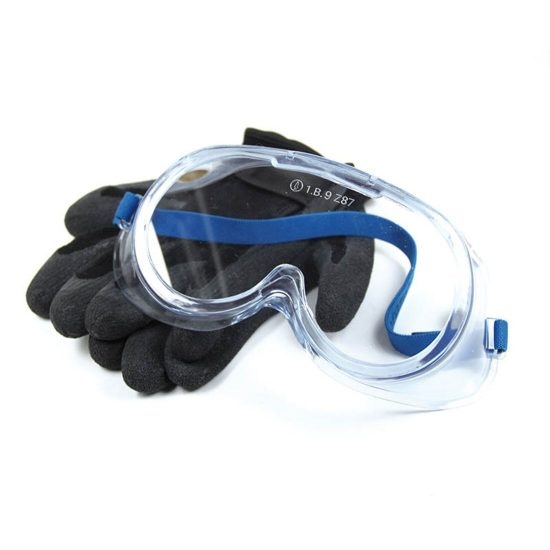 Refrigerant-protective-gloves-goggles