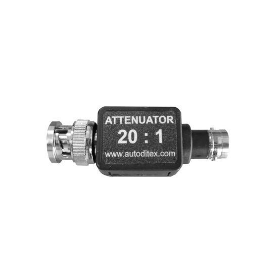 Attenuator 20 to 1 for Ditex scopes
