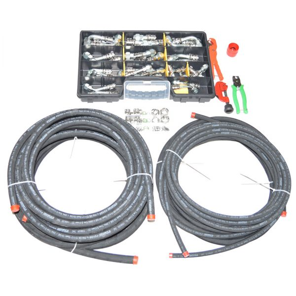 KlimaKlamp® AC Hose Repair Kit PremiumAgri Version
