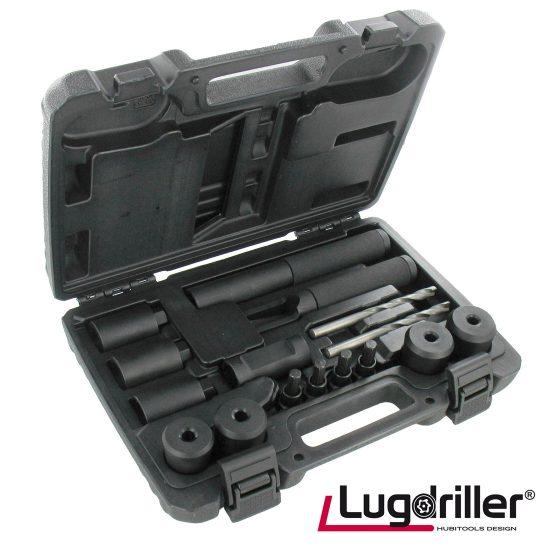 Lugdriller Locking Wheel Nut Removal Kit