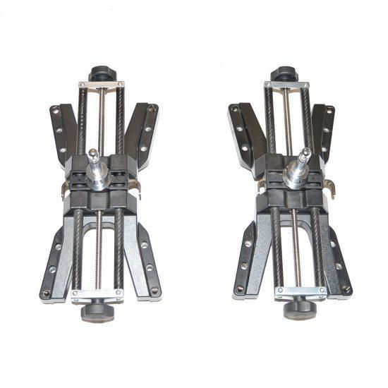 Pair Of Carbon Wheel Brackets 10 to 26 Inch With Sliding Pin